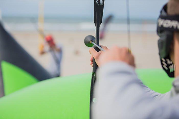 ShootOut op het strand