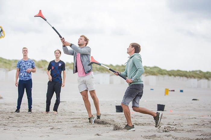 YouFo op het strand