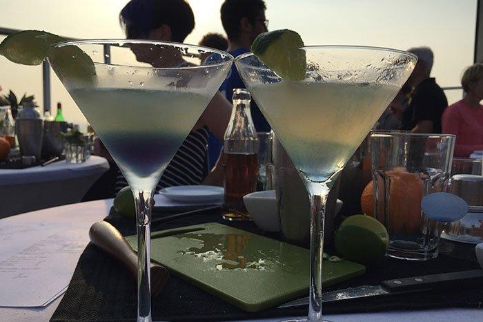 Cocktail workshop, cocktails shaken
